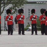Changing of the Guard in der Zitadelle von Quebec