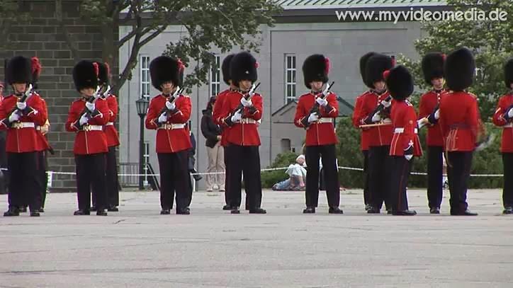 Changing of the Guard in der Zitadelle von Quebec