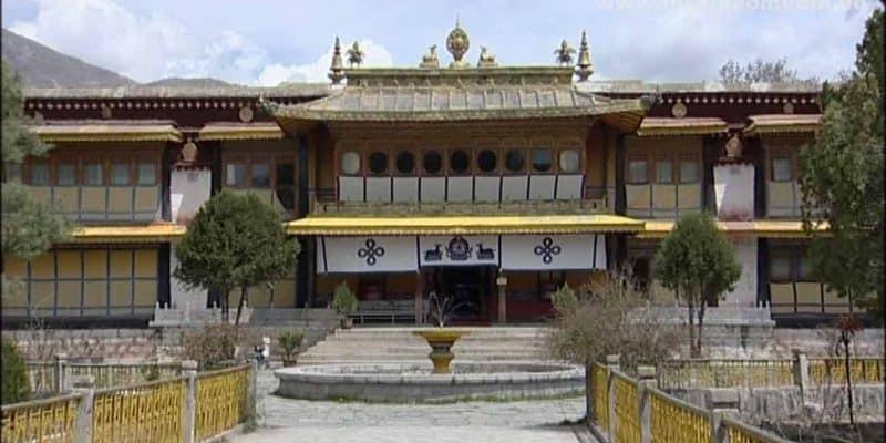 Norbulingka Sommerpalast in Tibet