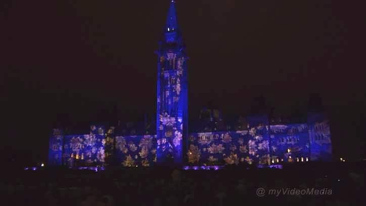 Mosaika Sound and Light Show - Canada - The Spirit of a Country