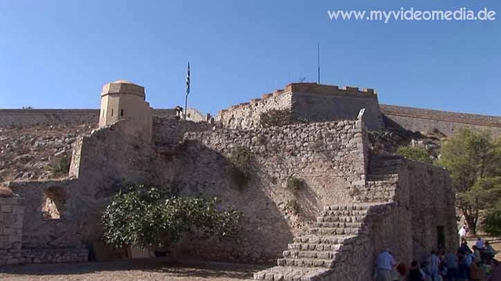 In der Palamidi-Festung