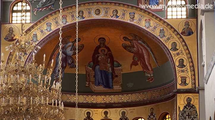 Inside Hagios Demetrios