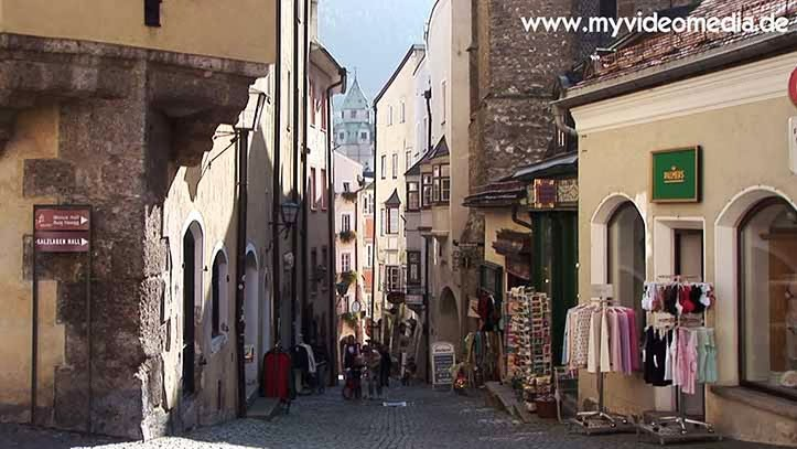 Old Town of Hall in Tyrol