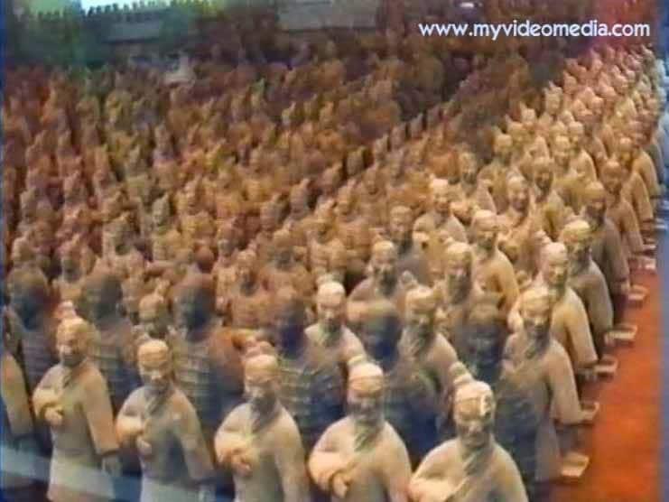 Wanderausstellung Kleine Terrakottaarmee in Shenzhen