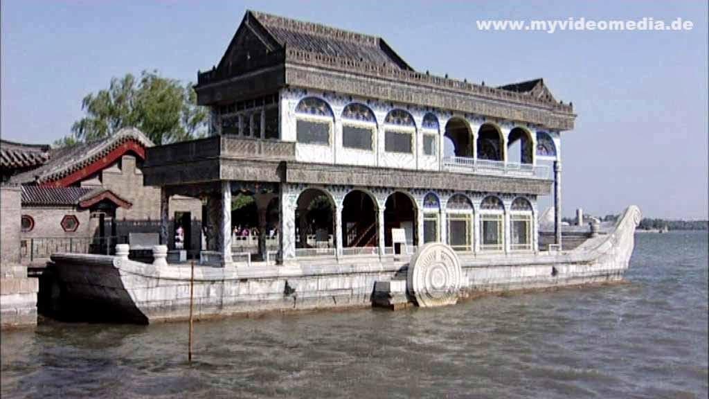 Marmorschiff Sommerpalast Peking