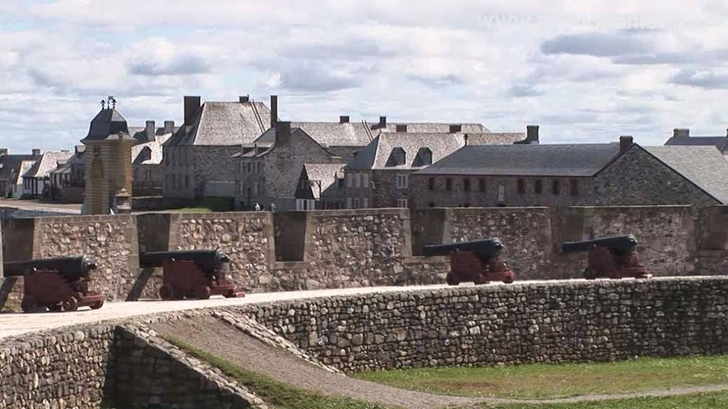 Inside the Fortress of Louisbourg