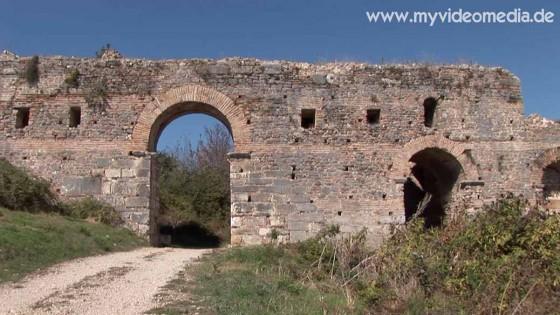 Nicopolis city wall