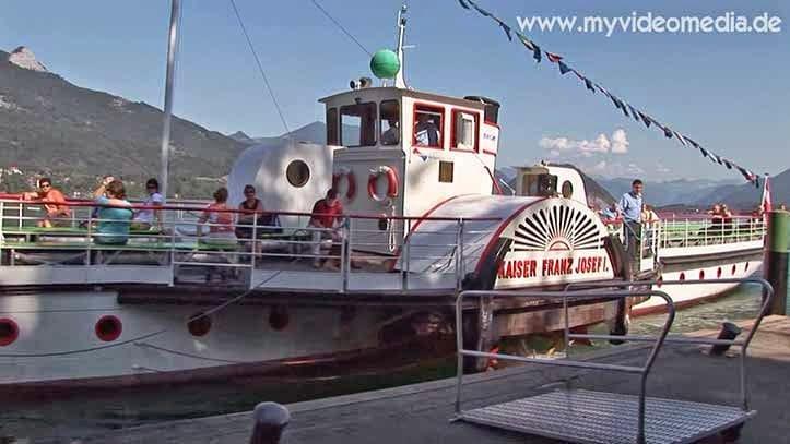 paddle steamer Kaiser Franz Joseph