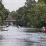 Alster Kanal Tour in Hamburg