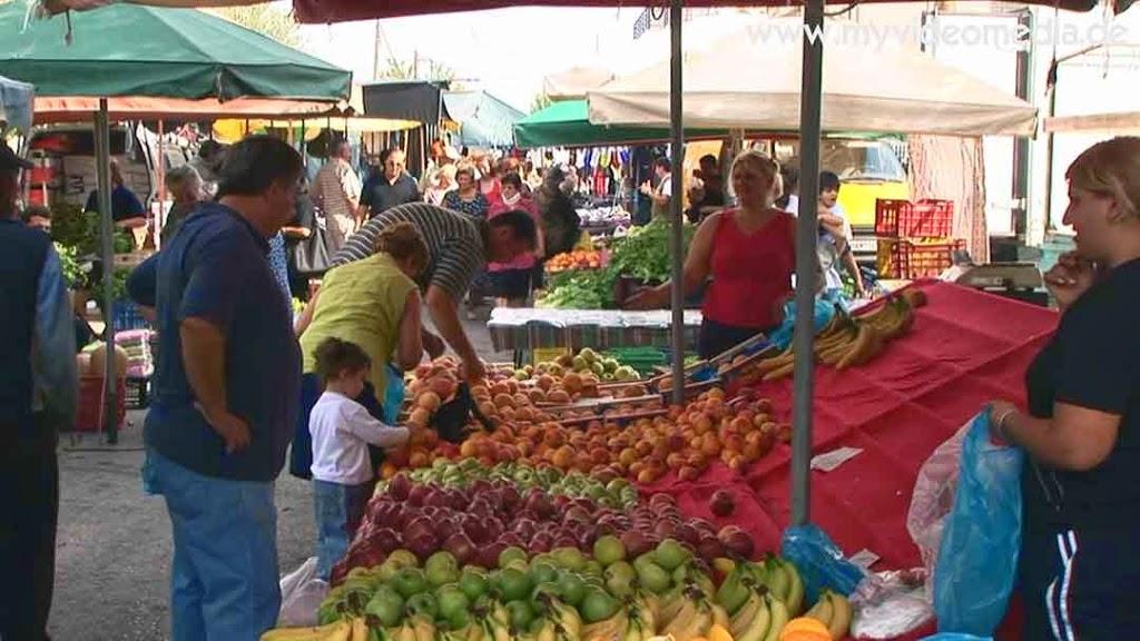 Gastouni - Bauern- und Zigeunermarkt