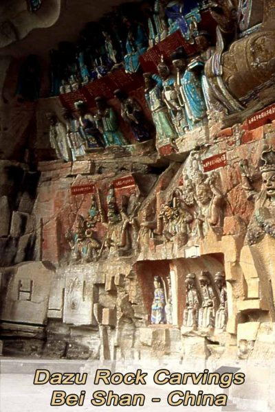 Dazu Rock Carvings Bei Shan