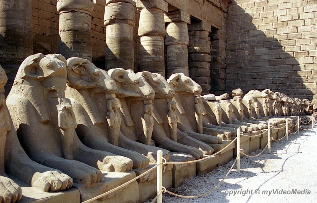 Luxor Corridor of Sphinxes