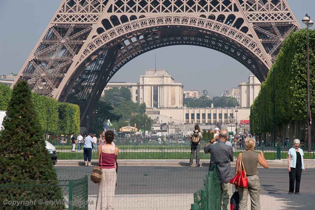 Summer day in Paris