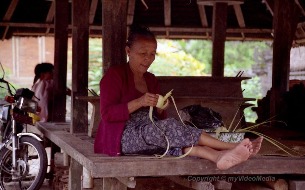 Frau in Tengangan