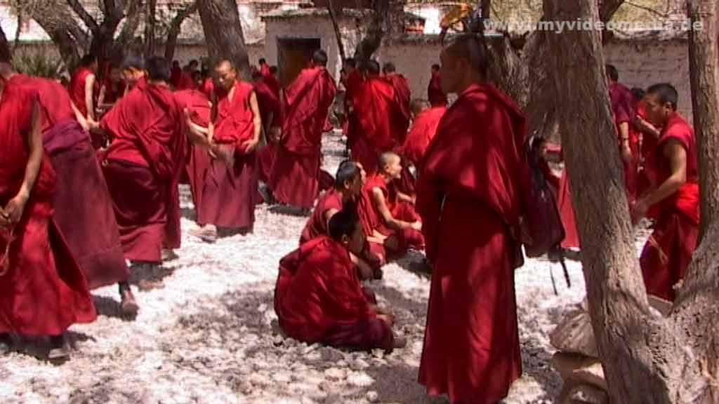 Debate of monks