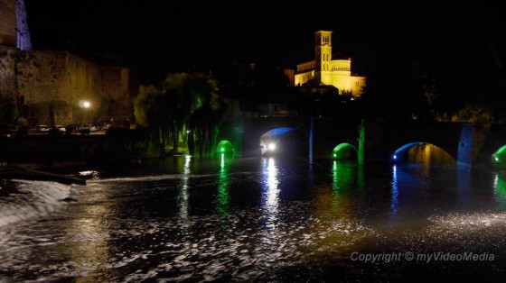 Clisson illuminated