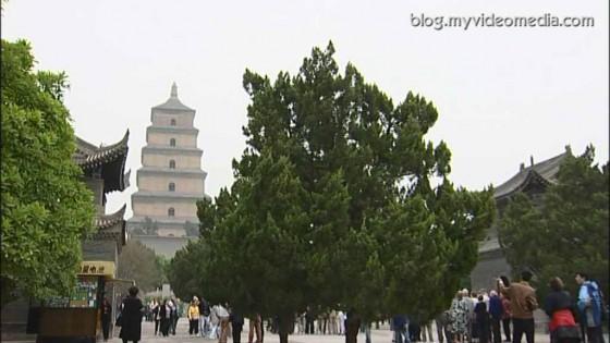 Giant Wild Goose Pagoda
