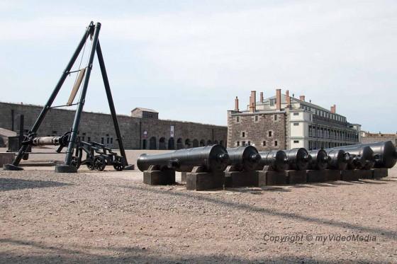 Im Inneren der Halifax Zitadelle