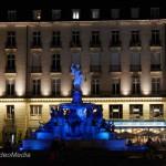 Nantes bei Nacht