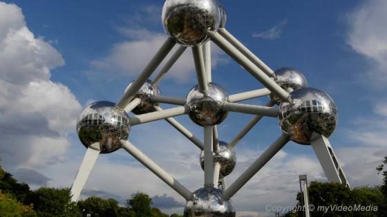 Atomium landmark of Brussels