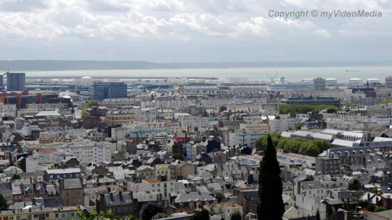 Panoramic view Le Havre