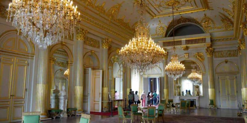 Inside the Royal Palace