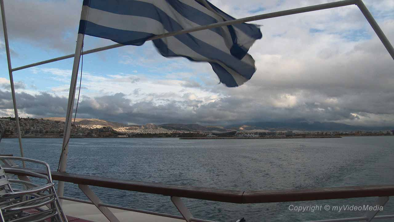 cruise from Athens to Hydra