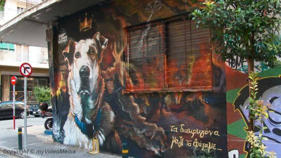 Riot Dog Loukanikos