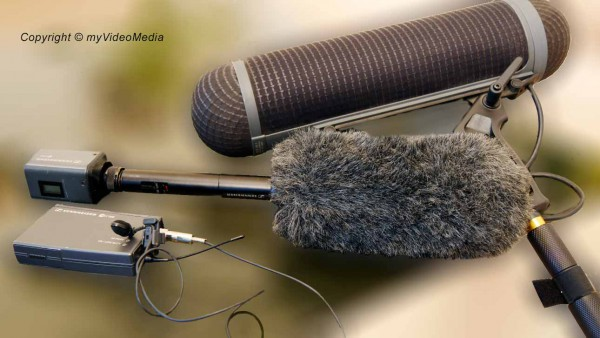 Reportage-Mikrofone