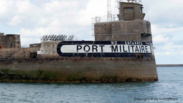 Militairy port Cherbourg