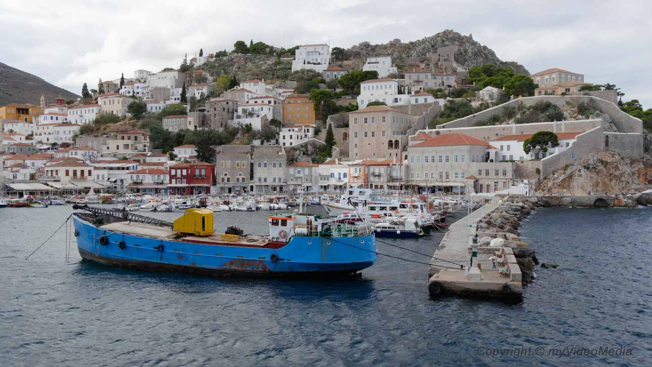 The island of Hydra- A flying visit