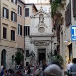 Von Rom Regola zum Mercato di Campo de Fiori