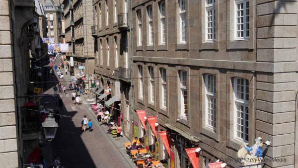 Street life Saint Malo
