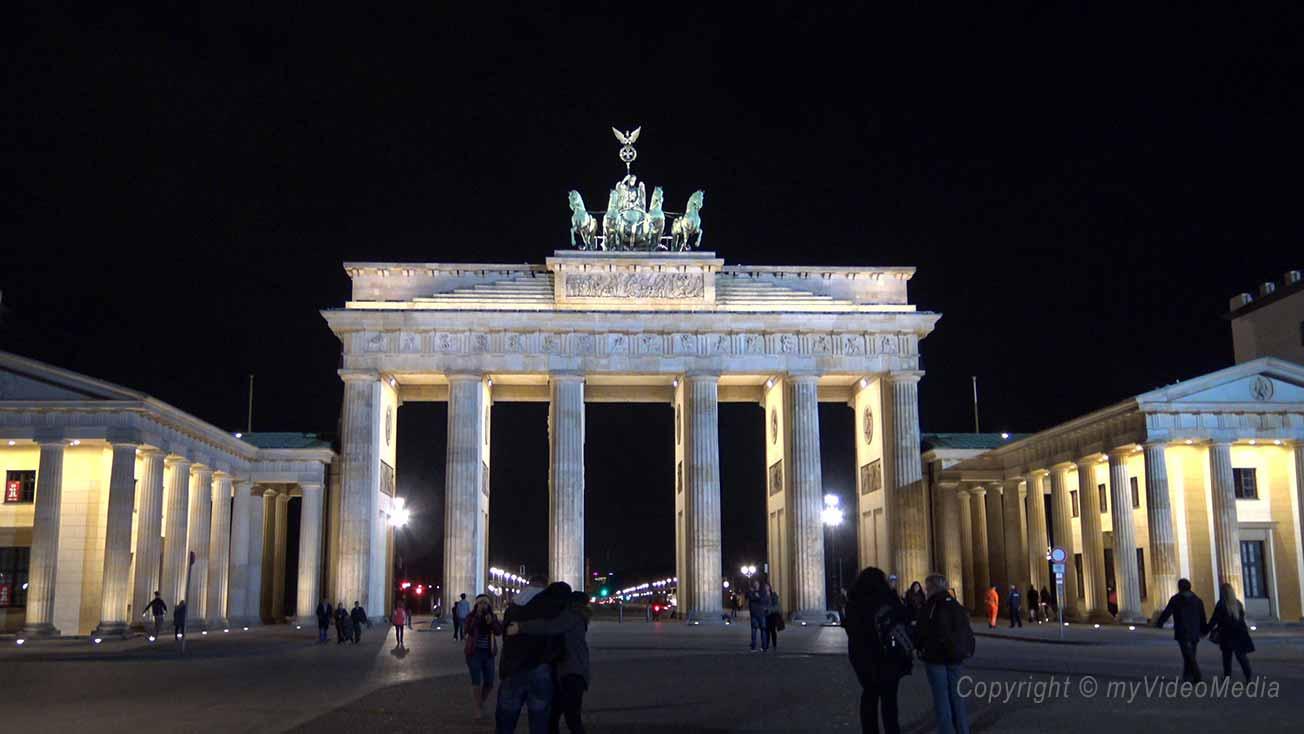 Abends in Berlin