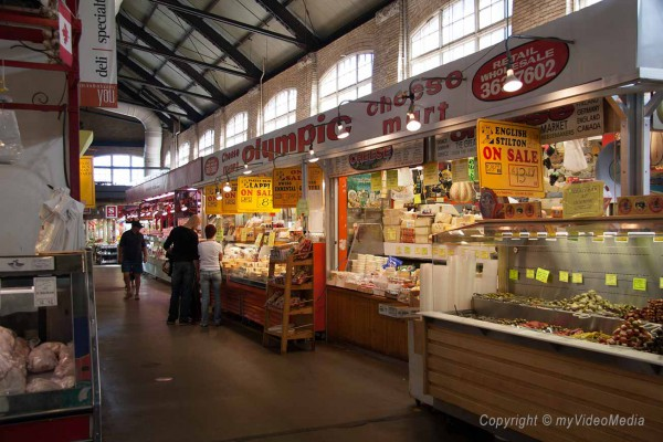 Inside St Lawrence Market