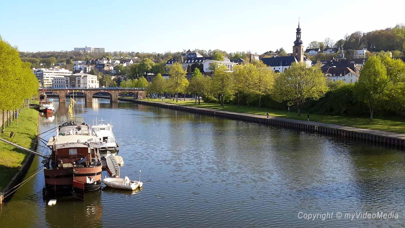 Saarbrücken - river saar