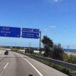 Bus journey Barcelona to Lloret de Mar