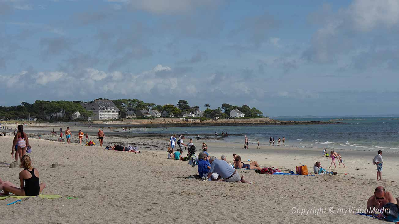 Building at Carnac Beach