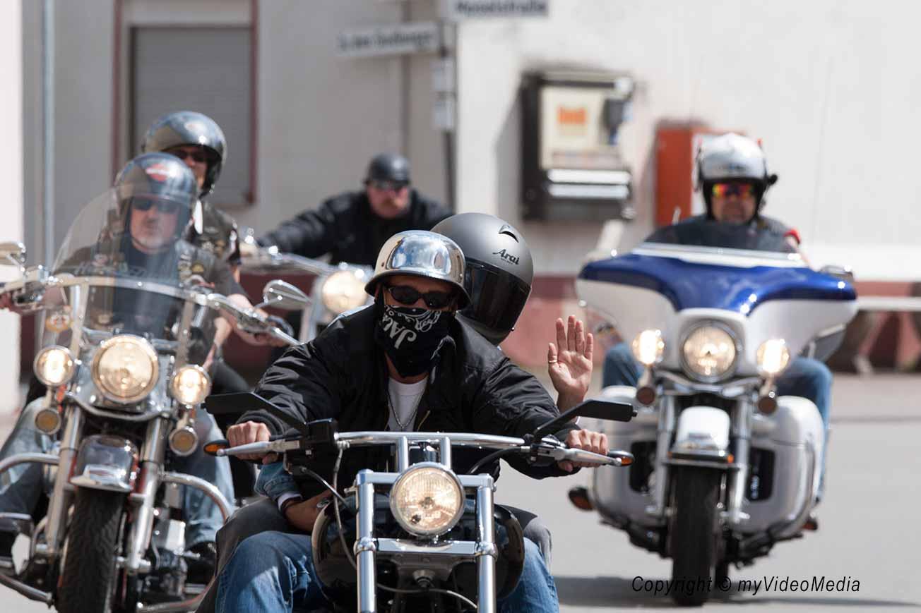 Harley Ausfahrt 2008