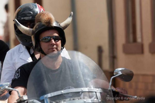 video Harley Parade 2008