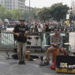 Band Latin Panas am Placa de Catalunia