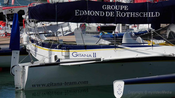 Yacht Groupe Edmond de Rothschild