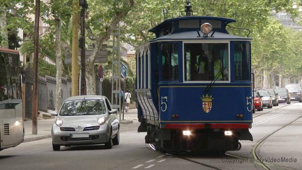 historische Strassenbahn Barcelona