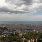 Tibidabo – the perfect view above Barcelona