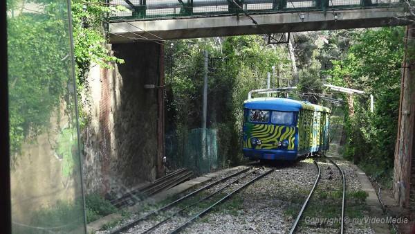 Schrägseilbahn Tibidabo