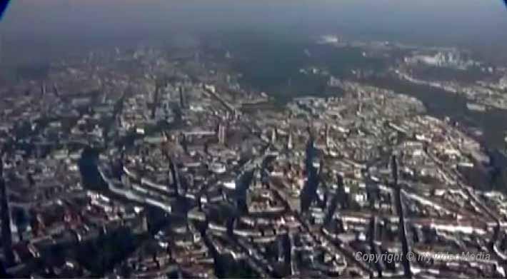 Zeppelin Flight over Munich