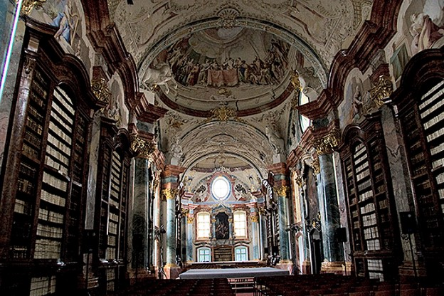 Altenburg Abbey library