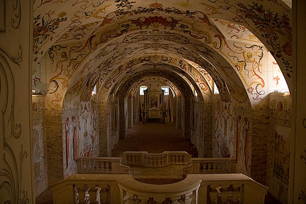 crypt of Altenburg Abbey