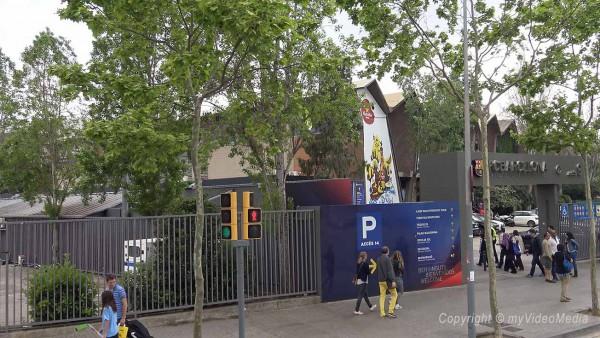Entrance FC Barcelona