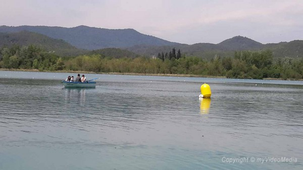 on the lake of Banyoles